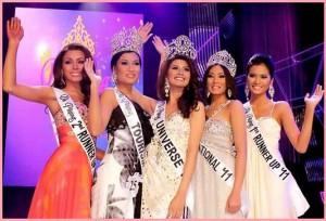 Bb. Pilipinas 2011 winners