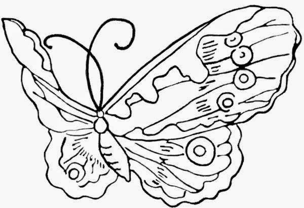 Mariposas para Colorear, parte 7