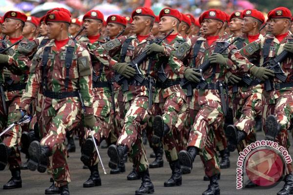 Prajurit Kopassus TNI AD harus profesional dan rendah hati