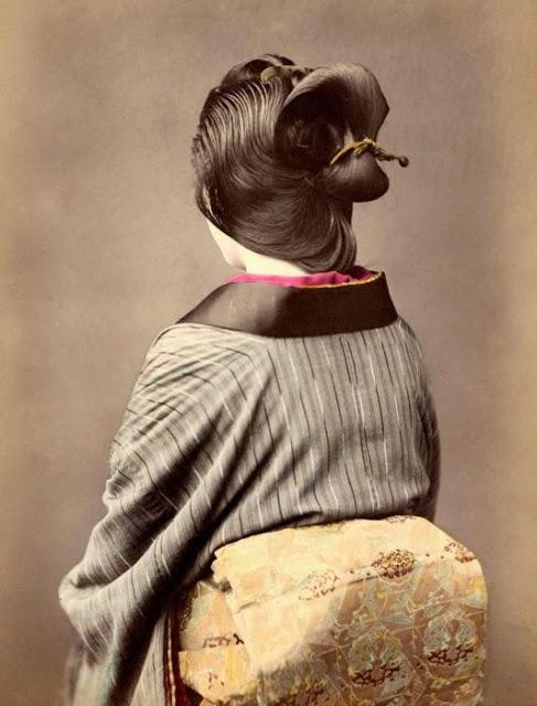 Vintage Geisha photos ~ vintage everyday Everyday Hairstyles For Teenage Girls