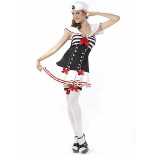 Disfraces de Halloween para Mujeres, Marineras, parte 2