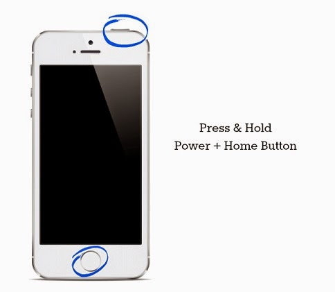 Tombol home power iPhone 5S layar hitam black screen