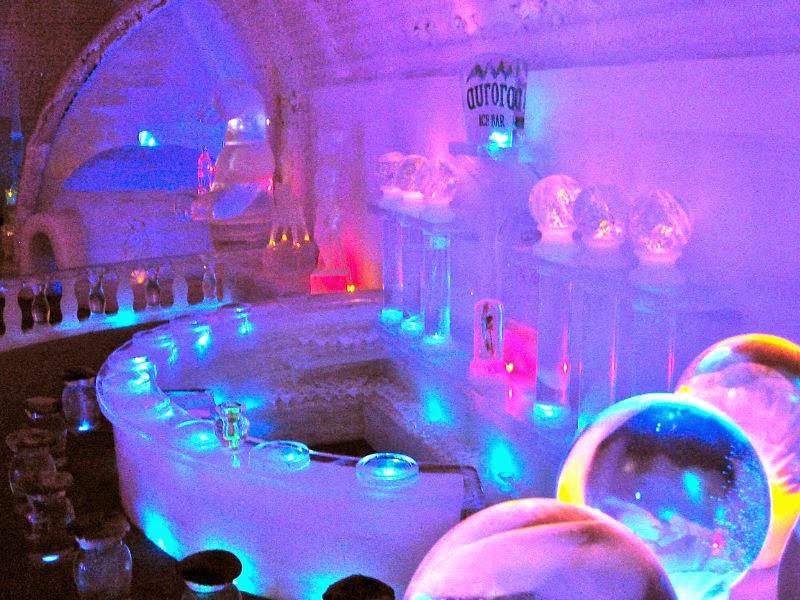 hotel de hielo - bar