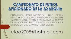 CORREO OFICIAL DEL CAMPEONATO DE FUTBOL AFICIONADO DE LA AXARQUIA
