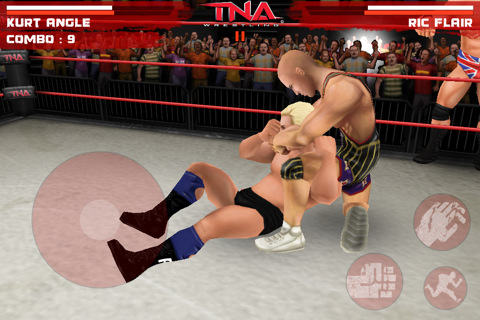 gaming and gaming all around: TNA WRESTLING IMPACK ANDROID