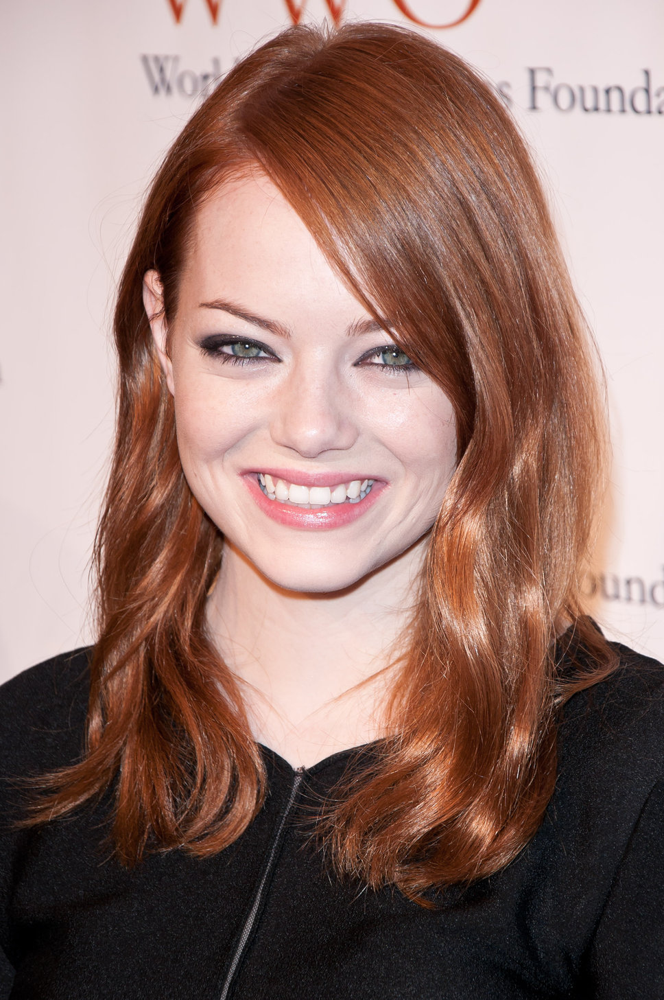 how to get emma stone hair