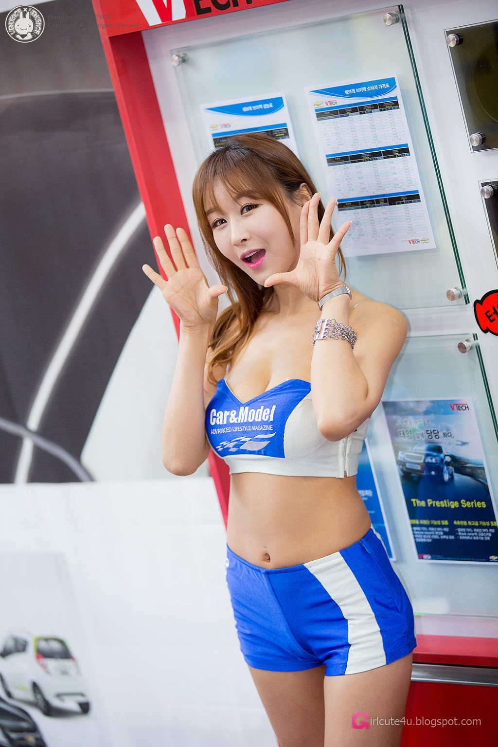 5 Seo Yoon Ah - Automotive Week - very cute asian girl-girlcute4u.blogspot.com