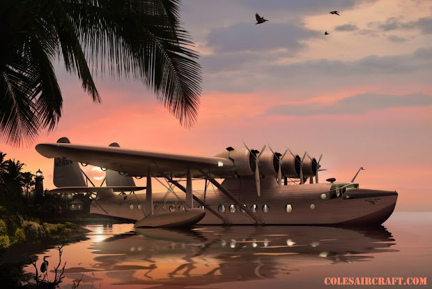 aviation art of ron cole & cole's