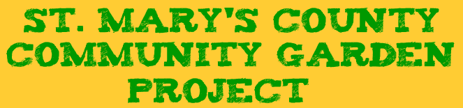 St. Mary&#39;s County Community Garden Project