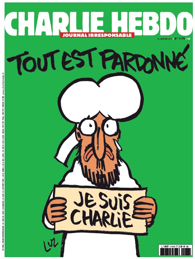 Charlie Hebdo, sajtó, párizsi vérengzés, Kouachi-fivérek, terrorizmus, Mohamed próféta