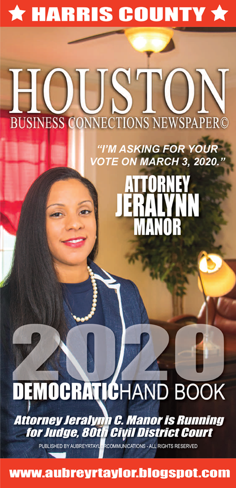 Attorney Jeralynn C. Manor is Running for Judge, 80th Civil District Court on March 3, 2020
