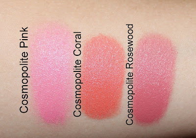 Dior Cosmopolite Fall 2015 Diorblush Cheek Sticks Swatches