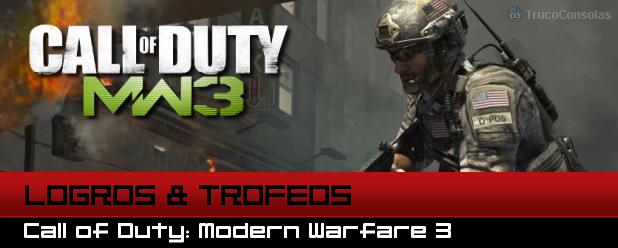 Guia de Logros y Trofeos Call of Duty Modern Warfare 3 PS3 XBox 360