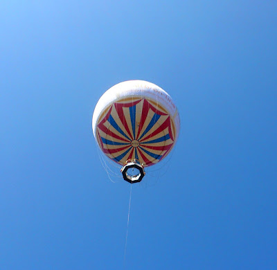 bournemouth balloon in the sky