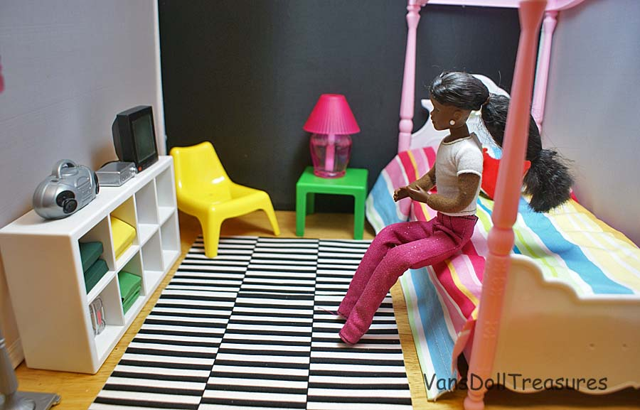 ikea dollhouse furniture. another piece that came with the set was yellow chair hereu0027s room configured a little differently ikea dollhouse furniture