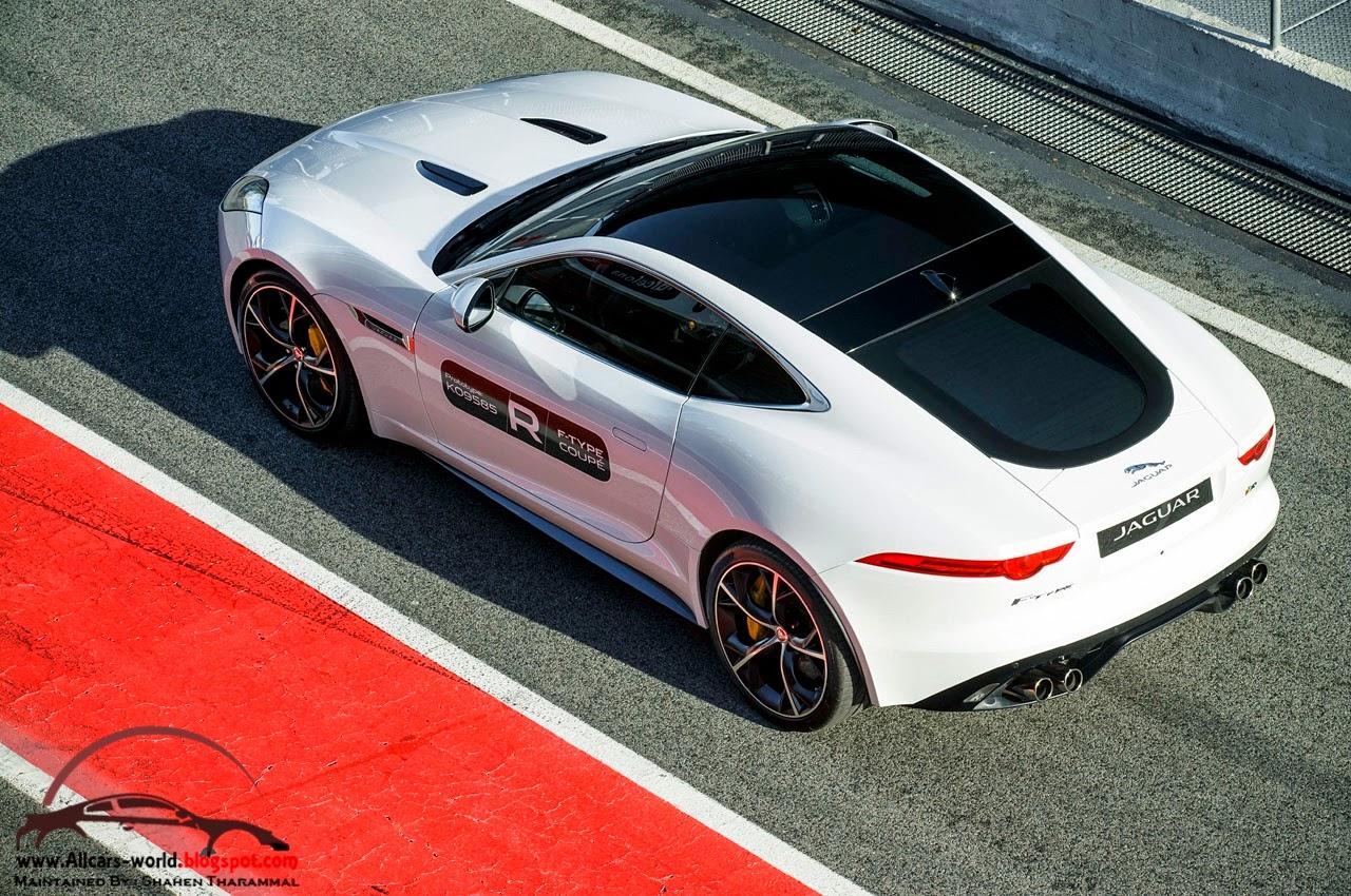 automotive news 2015 jaguar f type r coupe. Black Bedroom Furniture Sets. Home Design Ideas