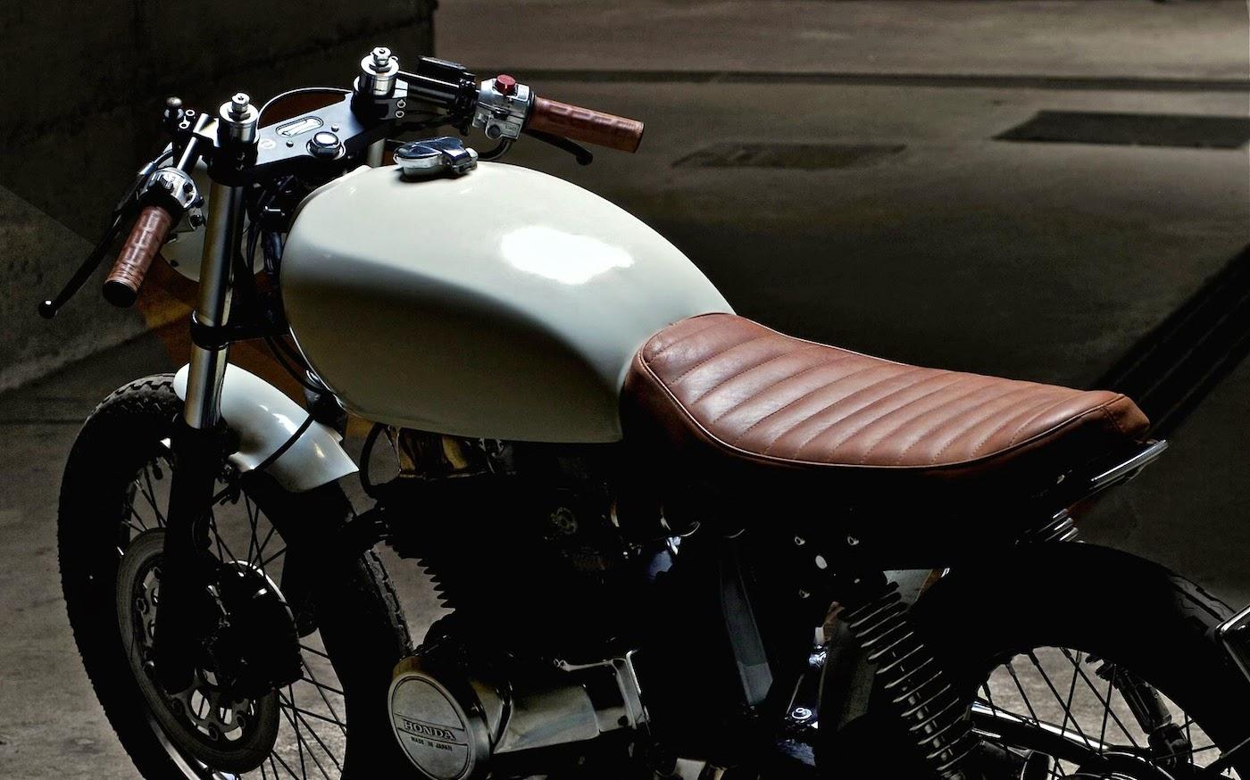 Custom Honda CB400 A Elegant Bike Based On CB400N This