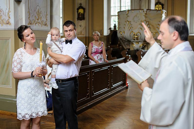 Eugenijus TROICKIS krikštija
