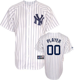 Big and Tall Yankees Customized Jersey