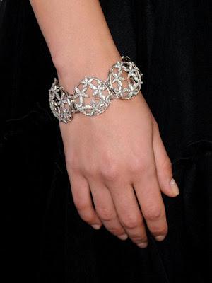 Mila Kunis Diamond Bracelet