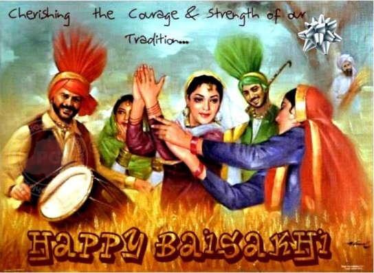 Happy baisakhi and punjabi new year readitt the e magazine vishu in kerala and nabha barsha in bengal are celebrated on the same day readitt wishes you a happy baisakhi and punjabi new year m4hsunfo