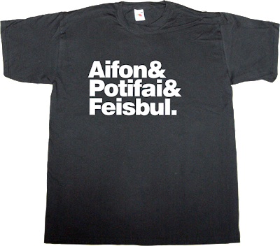 iphone spotify facebook spanish literal translations t-shirt ephemeral-t-shirts