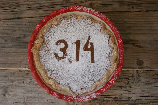 3.14 Chocolate Peanut Butter Chess Pie for Pi(e) Day Washington, D.C. 2013