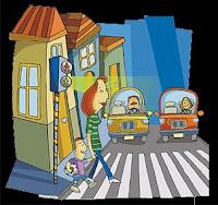 Resultado de imagen de dibujo calle señales