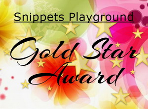 SO PLEASED TO HAVE BEEN AWARDED THIS AGAIN