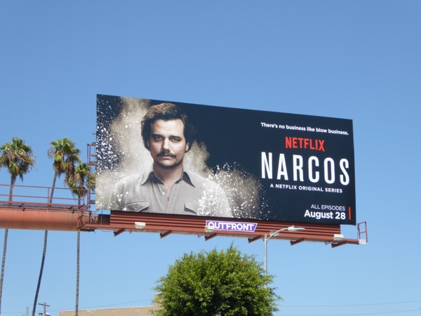 Narcos series premiere billboard