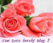 Kiitos, Marleena, Eila ja Sirpa  ruusuista. Ihana tunnustus.