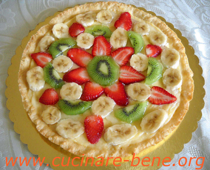 Ricetta crostata primavera