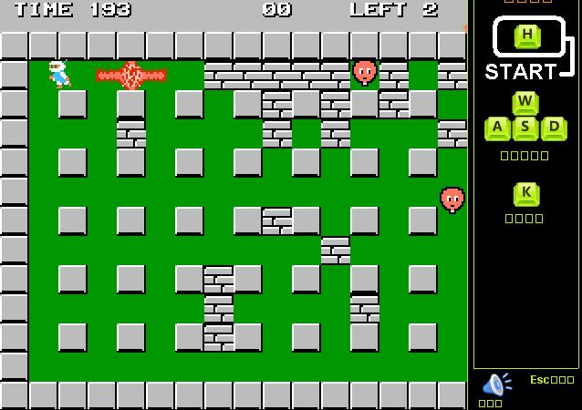 Classic Bomberman game play bomberman oyunu oyna bomber man