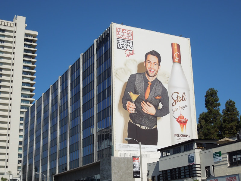 Stoli Vodka Indulgence billboard