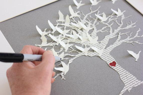 y para mi gusto lo mas bonito seria hacer mariposas en tela y papel para hacer un colage luego en una pared de casa