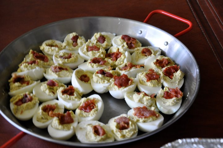 dolce vita: Key Lime Pie and Italian Style Deviled Eggs