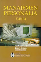 AJIBAYUSTORE  Judul : MANAJEMEN PERSONALIA Pengarang : Heidjachman, Suad Husnan Penerbit : BPFE Yogyakarta