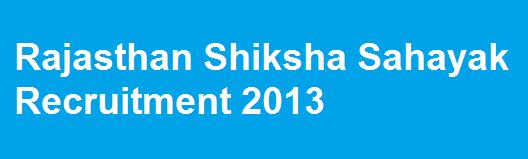 Rajasthan Shiksha Sahayak To Be Recruited as Rajasthan Vidhyalay Sahayak.