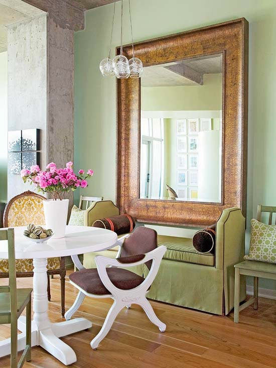 Modern furniture clever solution for small spaces 2014 ideas for Small dining area solutions
