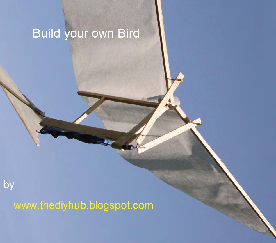 how to make ornithopter with motor