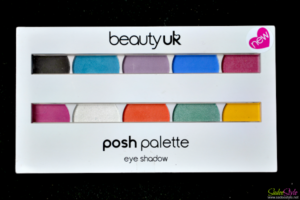 Festival Posh Palette by Beauty UK - Review, Swatches & EyeLook