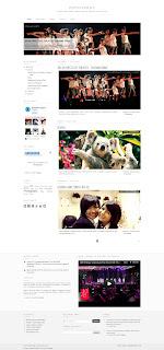 PutihPekat - Free Premium Elegant Blogger Template