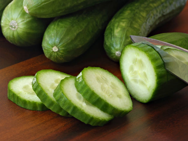 Cucumber against cellulite