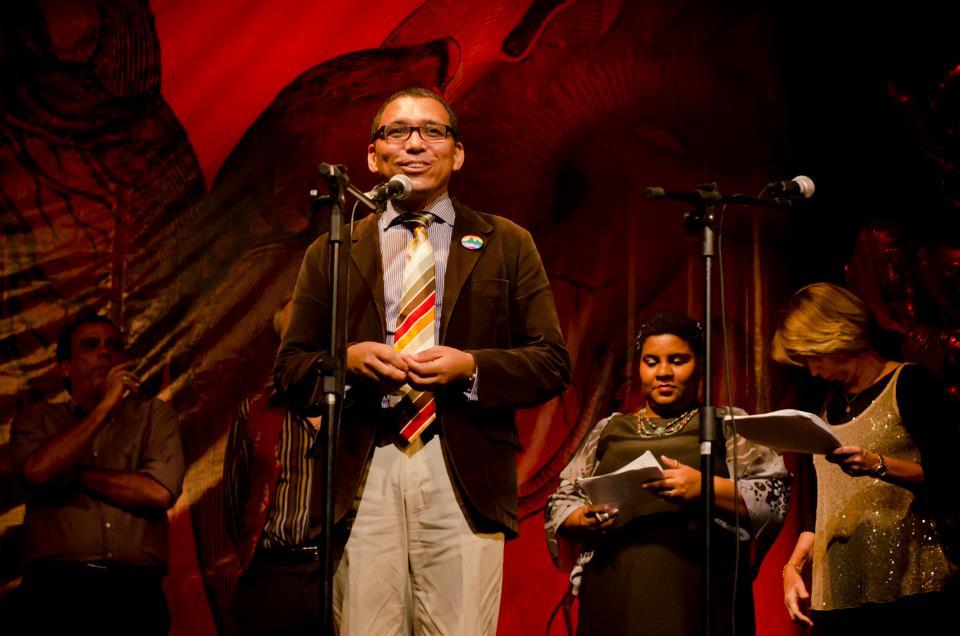 Claudio Nascimento Coordenador do Programa Rio sem Homofobia (Foto: Aline Macedo)