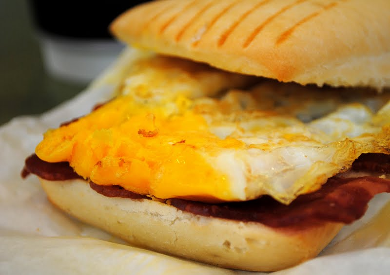 ... Tale: Singapore Discovery Vacation 2011: Wendy's Breakfast Panini