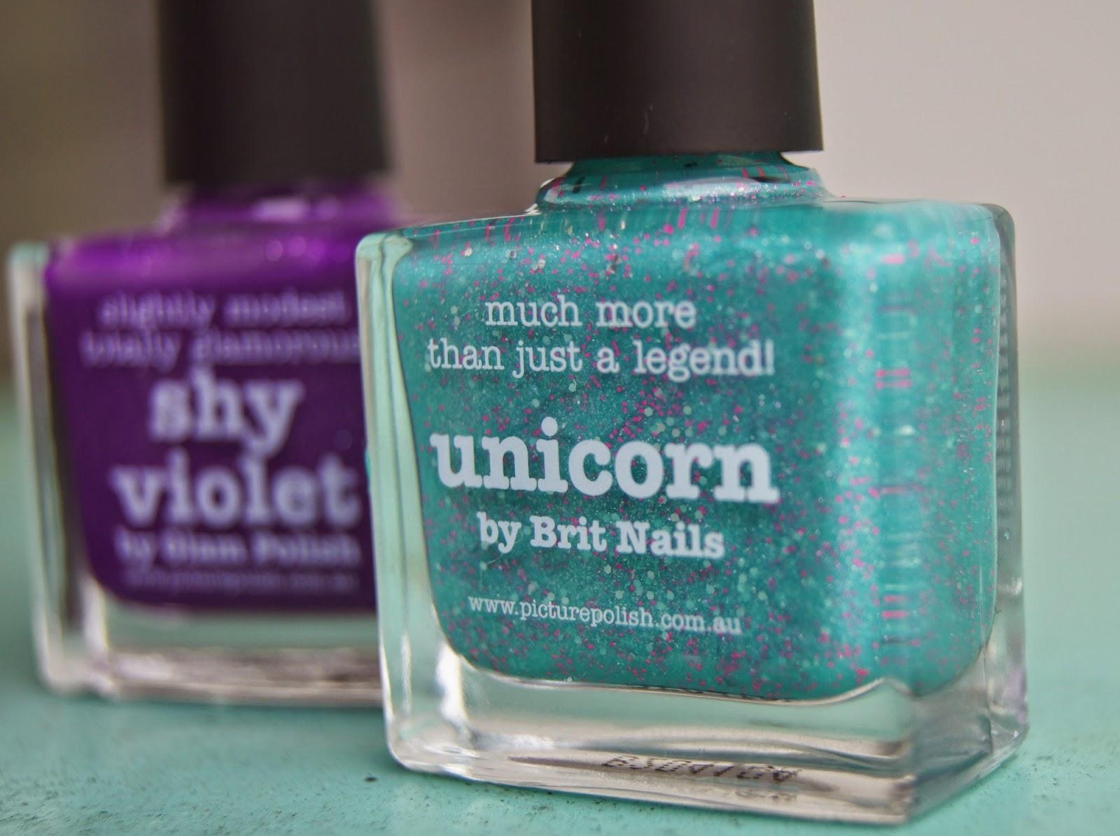 unicorn picture polish