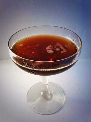 black walnut Manhattan