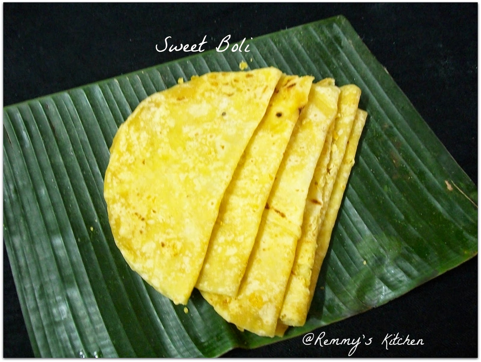 Sweet boli/Kadalai paruppu poli