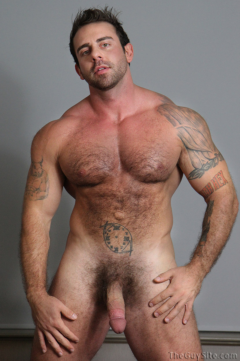 Hot hairy hard naked men