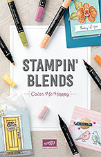 Click on the Stampin' Blends brochure to see it